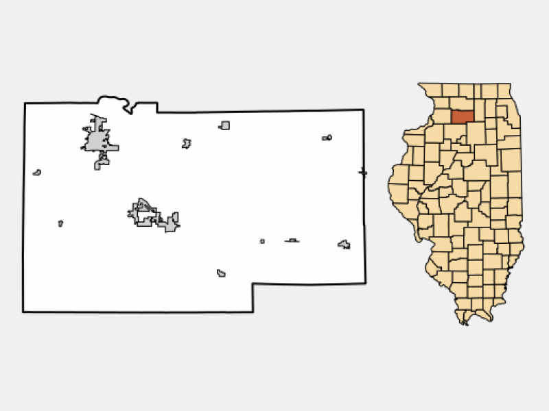 Amboy locator map