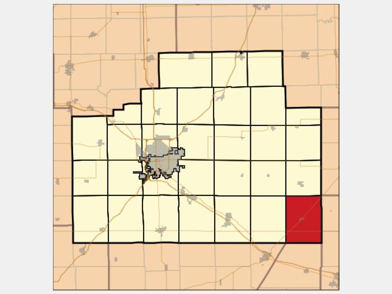 Bellflower locator map