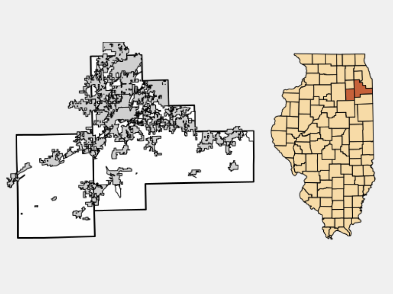 Braidwood locator map