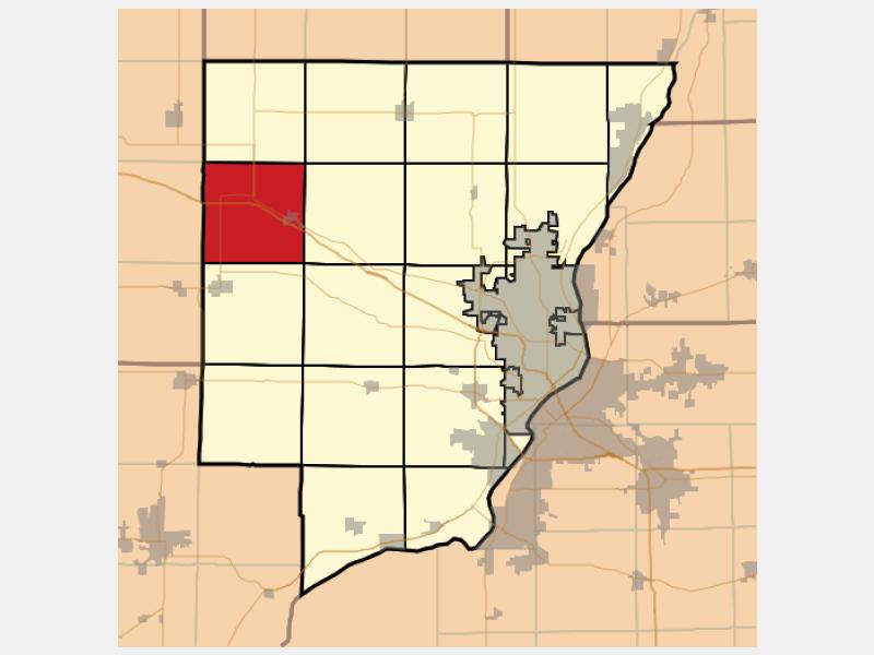 Brimfield locator map