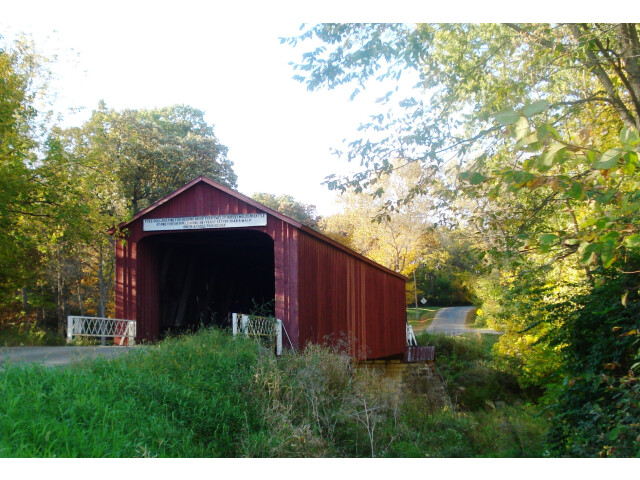 Red Covered Bridge image