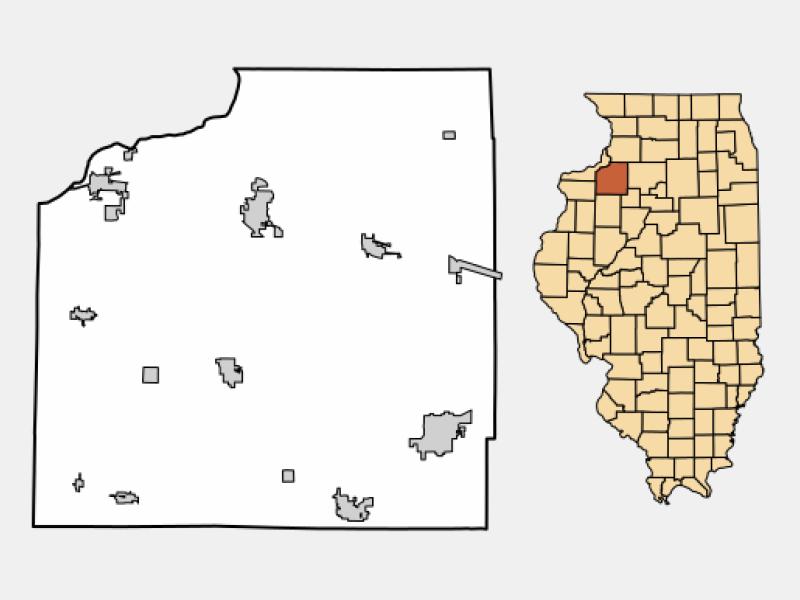 Colona locator map