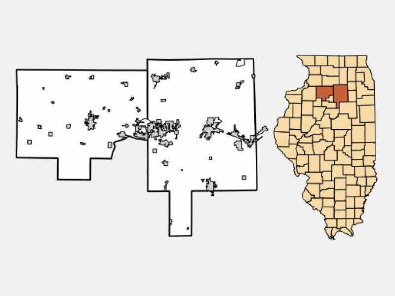 Dalzell locator map