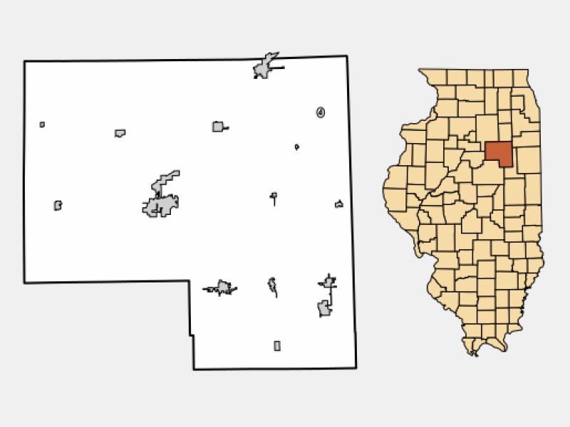 Flanagan locator map