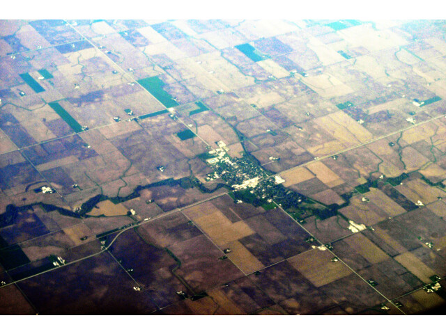 Forrest  Illinois aerial 01A image