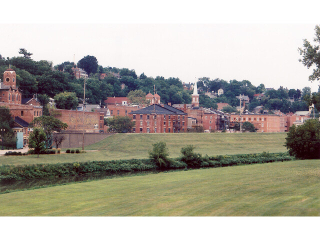 Galena Illinois skyline image