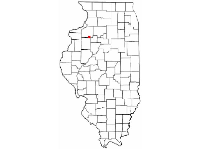 Galva locator map