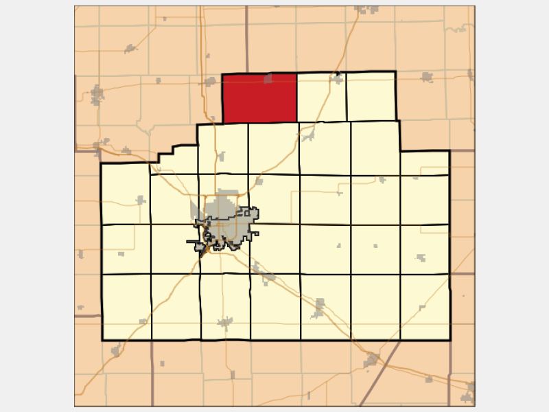Gridley locator map
