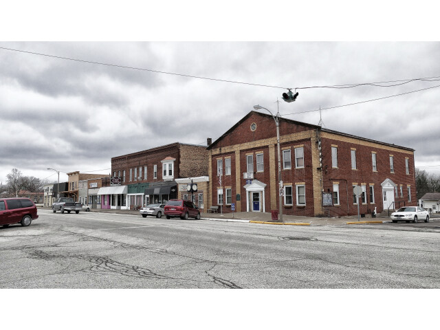 Broadway Street in Hamilton  Illinois image