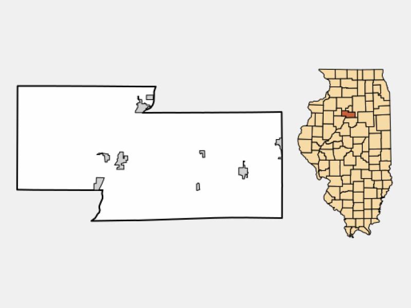 Henry locator map