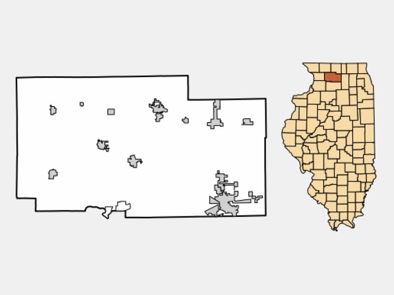 Hillcrest location map