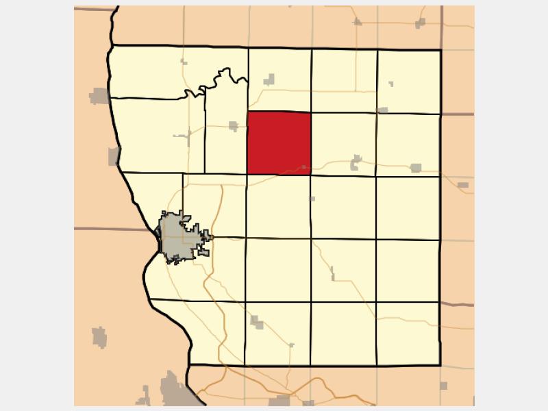 Honey Creek locator map