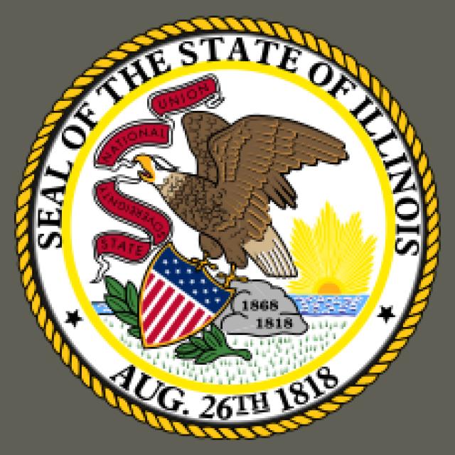 Seal of Illinois seal image