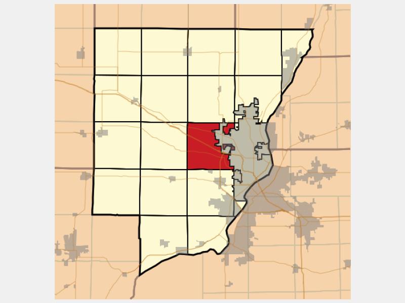 Kickapoo locator map