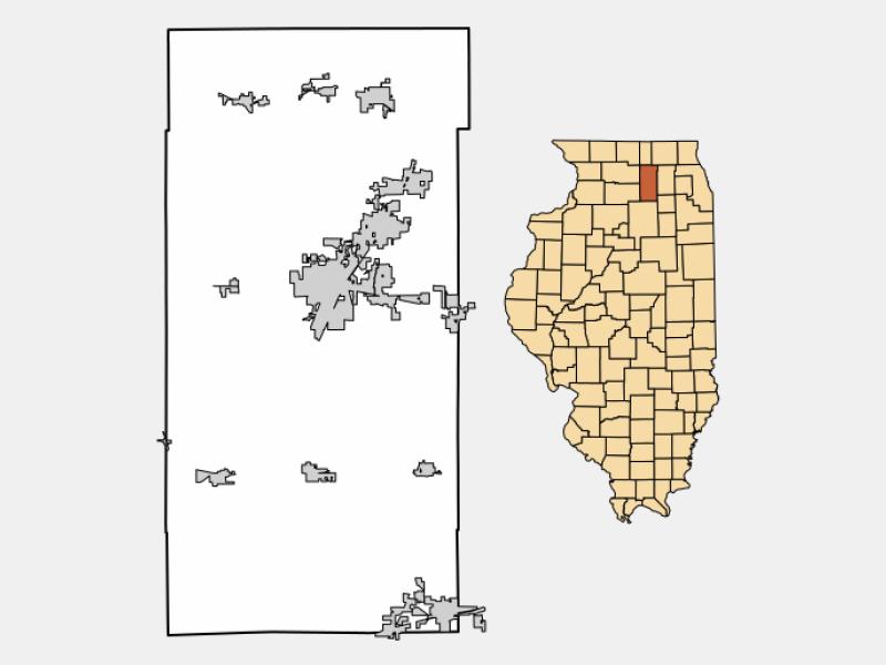 Kirkland locator map