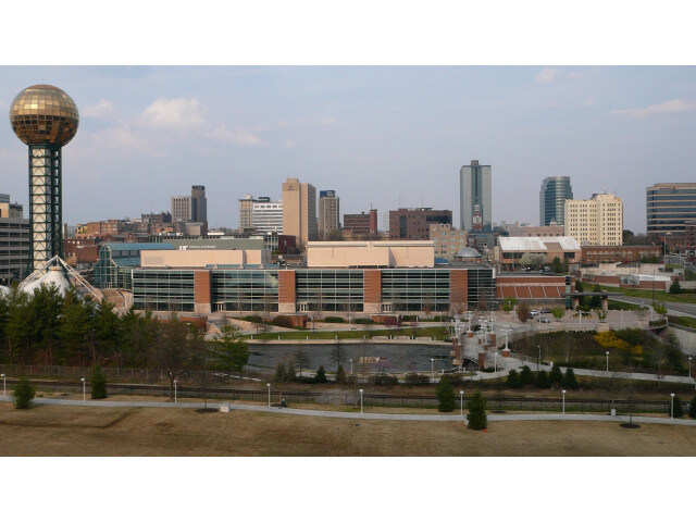Knoxville TN skyline image
