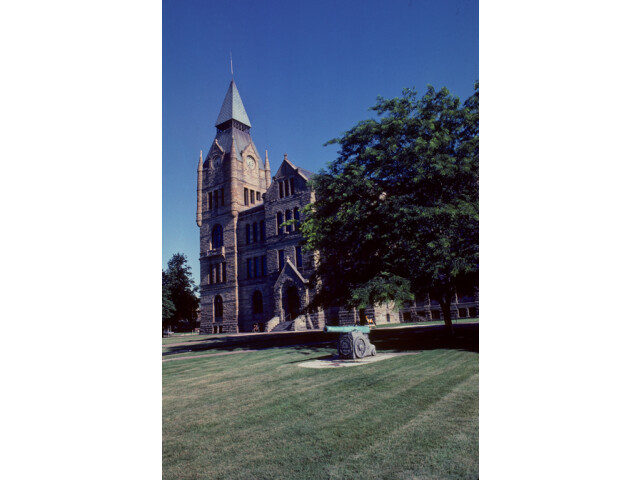 Knox County Courthouse 'Illinois' 1981 image