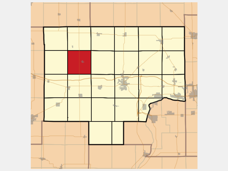 Manlius locator map