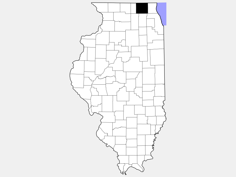 McHenry County locator map