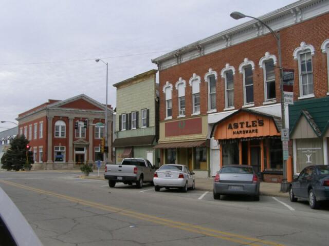 Momence Illinois downtown image