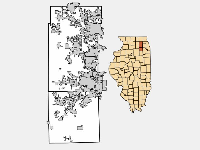 Montgomery locator map
