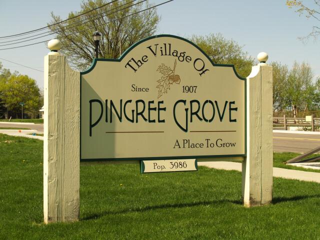 Pingreegrove sign image