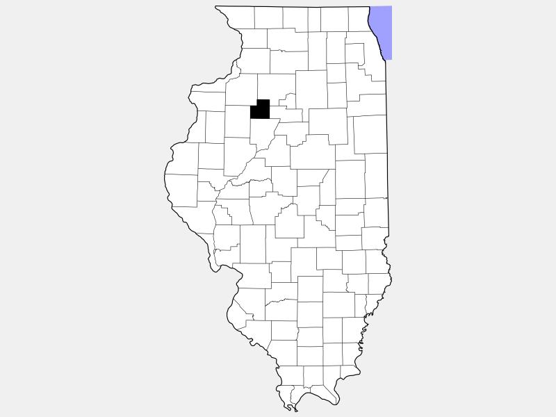 Stark County locator map