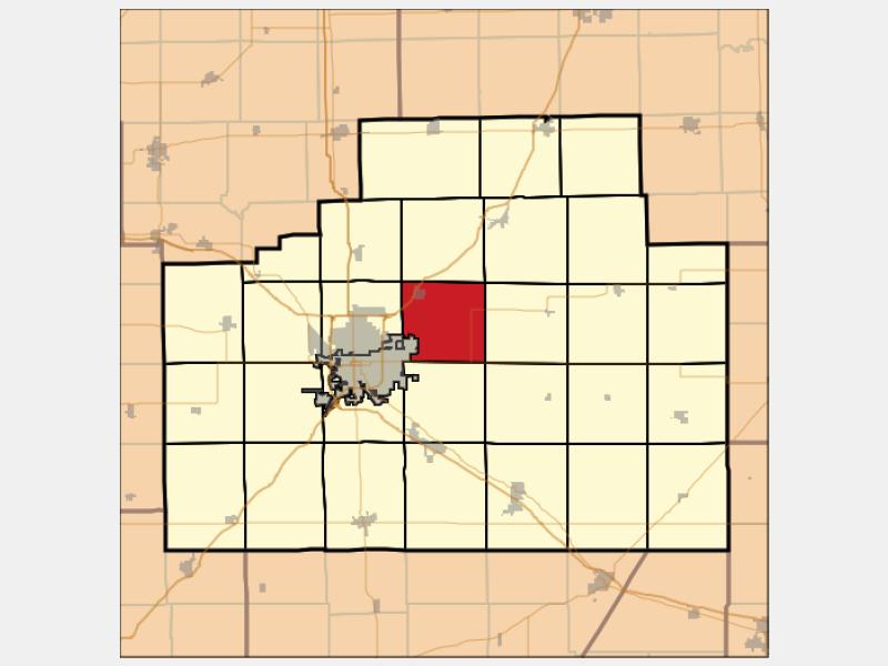 Towanda locator map