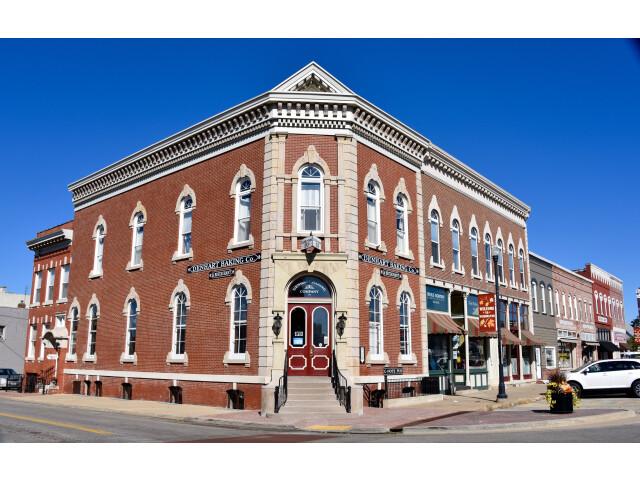 Image Denhart Bank Building. image