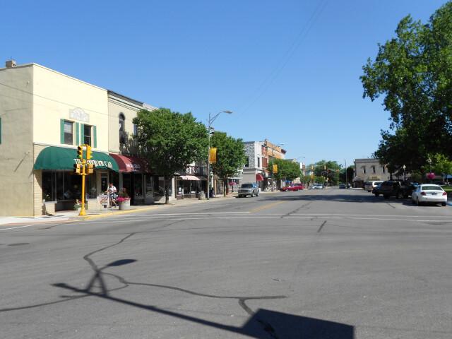 Auburn IN downtown 2012 image