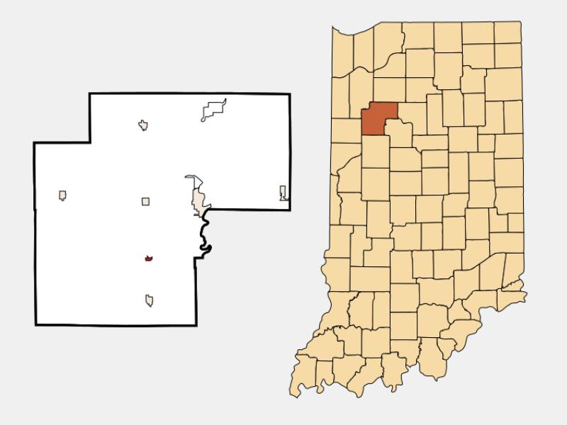 Chalmers locator map