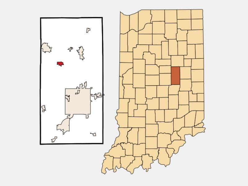 Frankton locator map