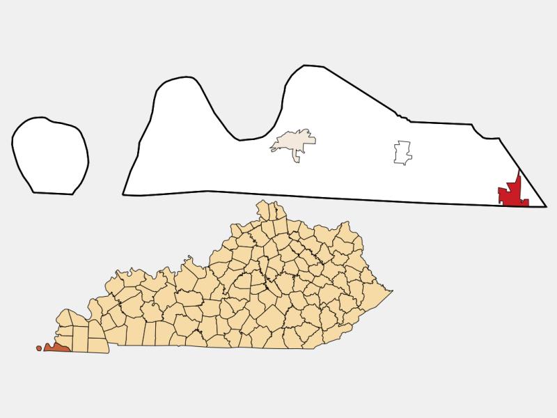 Fulton location map