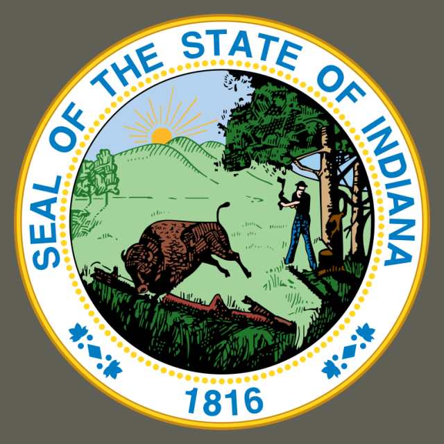 Indiana-StateSeal seal image
