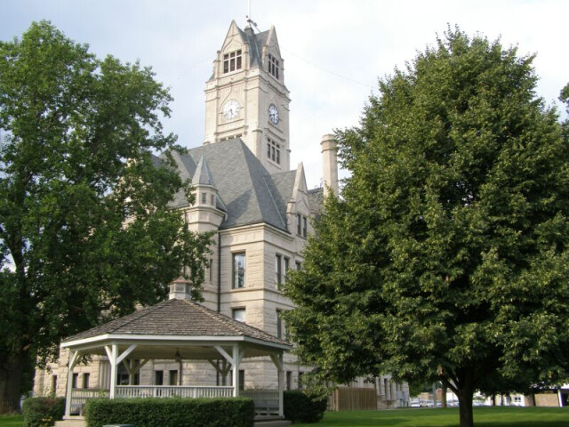 Jasper County Courthouse Rensselaer Indiana image