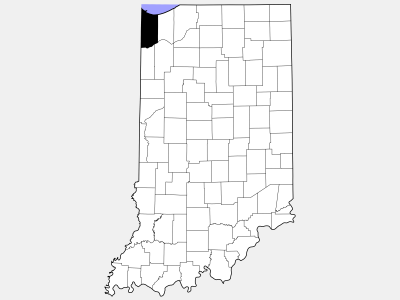 Lake County location map