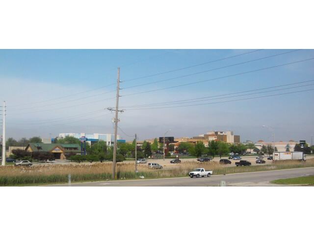 Merrillville Skyline with US 30 image