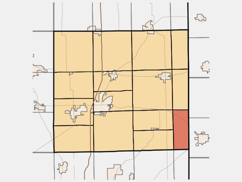 Newville locator map