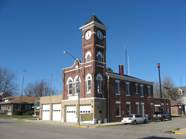Municipal building in Redkey image