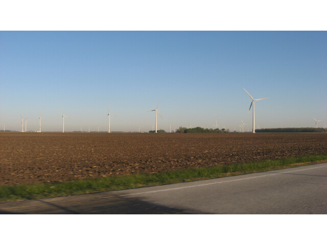 Meadow Lake Wind Farm from U.S. Route 231 image
