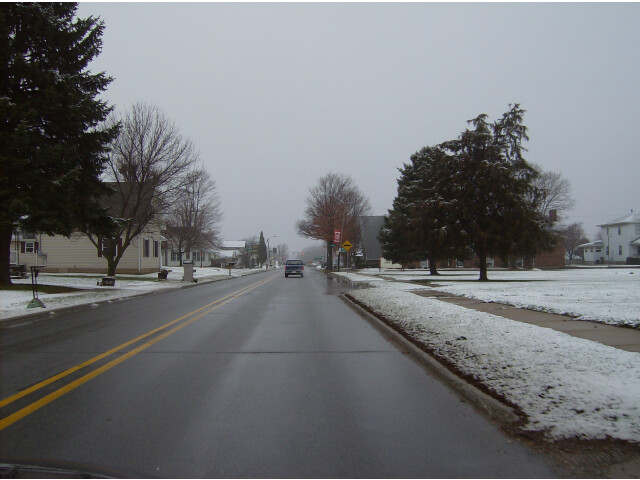Main Street in Russiaville image