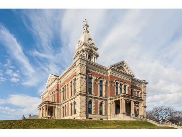 Cortes del Condado de Wabash  Wabash  Indiana  Estados Unidos  2012-11-12  DD 01 image