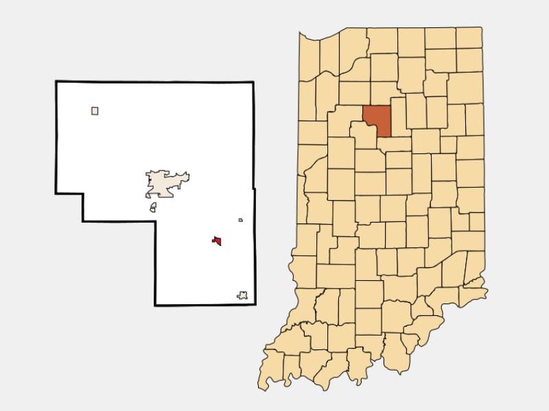 Walton location map