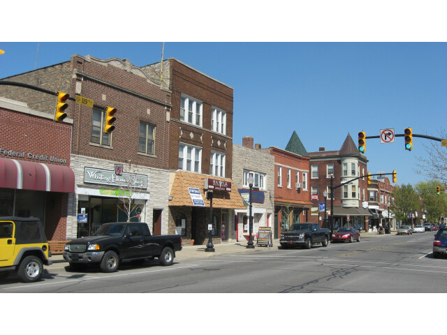 Whiting business district image