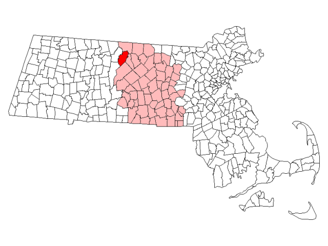 Athol locator map