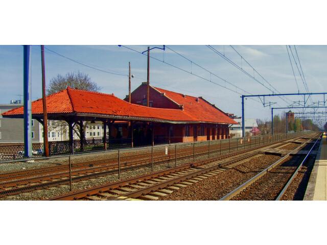 Attleboro  MA  train station image