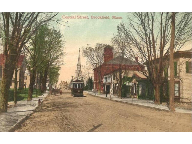 Central Street  Brookfield  MA image