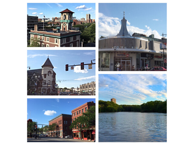 Brookline MA August 2015 Photo Collage 2 image