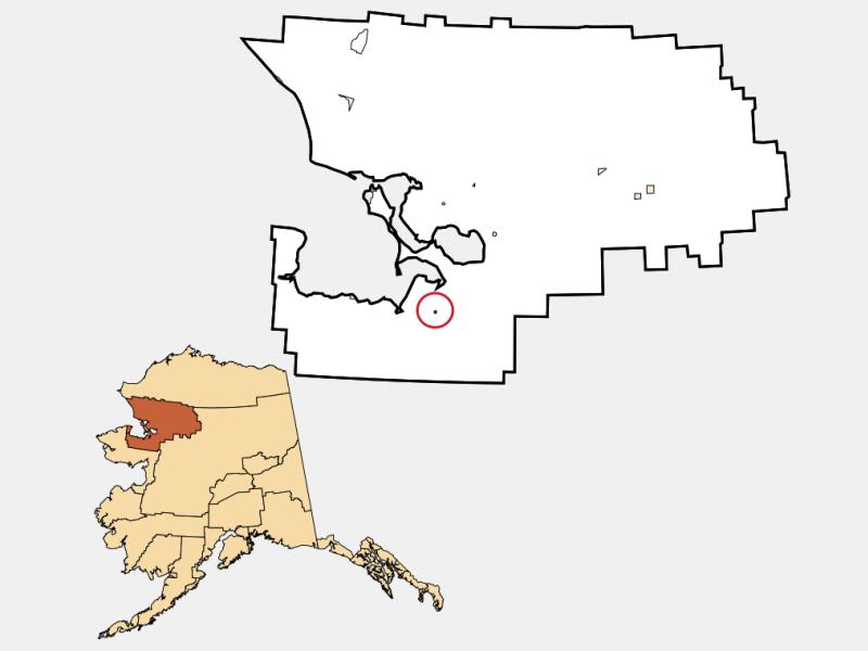 Buckland location map