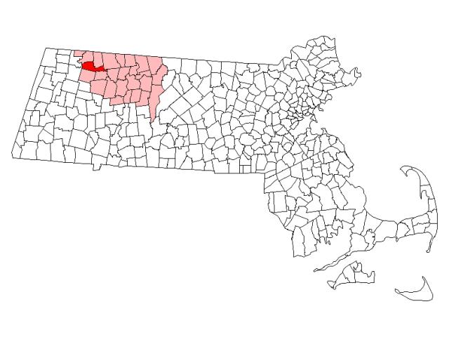 Charlemont location map
